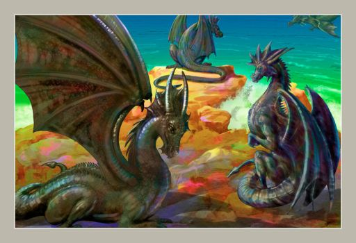 Dragons by nishant80