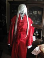 Inuyasha's Costume: Unfinished Update 2 by YoshiFHP