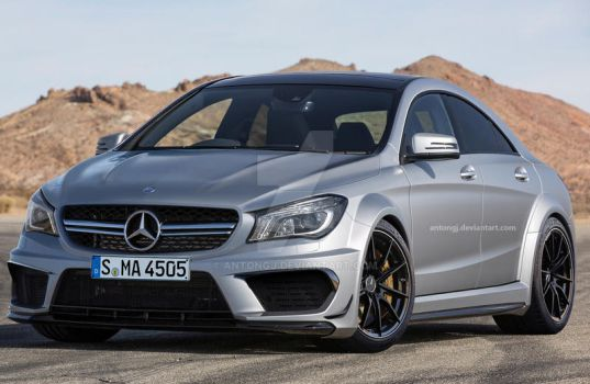 2014 Mercedes-benz Cla45 Amg Black Series Anto by antongj