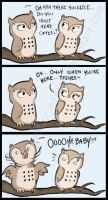 Comic - Owl Flirt by Rimfrost