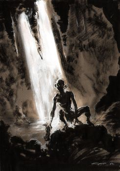 Gollum by Cinar