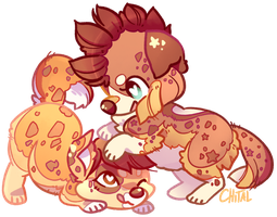 gay doges by Chital