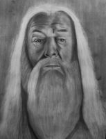 HP Dumbledore by cesarcrr
