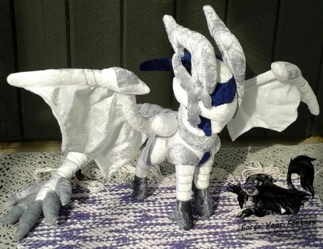 Dragon Corrin - Custom Plush Commission by Forge-Your-Fantasy