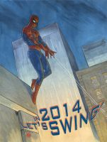 Spidey's 2014 whishes by Kromdor