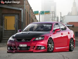 Lexus IS-F by aykutfiliz
