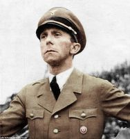 Joseph Paul Goebbels (in colour) 31 by Julia-Koterias