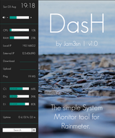 DasH 1.0.0 by Jam3sn (v1.1 in the description) by Jam3sn