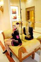 PSG - Stewardess Panty Cosplay by HezaChan