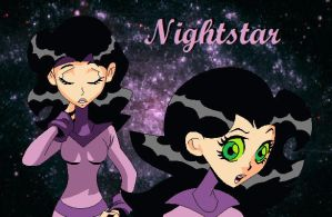 Nightstar by SuperheroGeek13