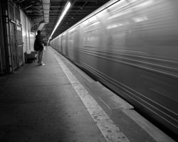 New York Subway Wallpaper by elsnaibs