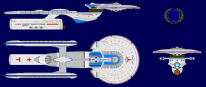 NCC-109110 USS-Cleric by highwindwarrior1988
