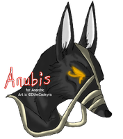 $1 commission - Anubis by DtheCadeyra