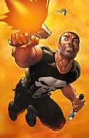 The Punisher by deffectx