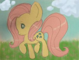 Cute lil Fluttershy by chocoleesy