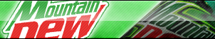 Mountain Dew Fan Button by ButtonsMaker