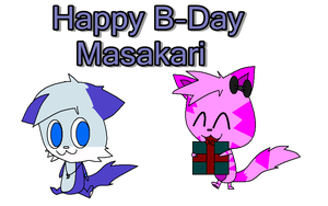 Happy B-Day Masakari by MisteryHTF