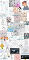 Doodles Collage by eliana55226838