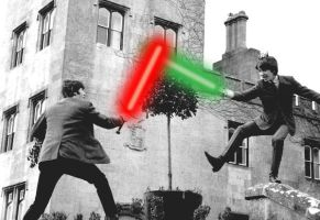 Beatles With Lighsabers by musicscifigirl