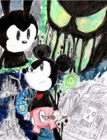 Epic Mickey Poster :Concept: by hypershadow34