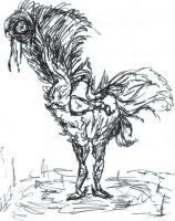 Zombie Ostrich...thing by gndn47