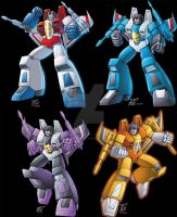 Decepticon seekers by Dan-the-artguy
