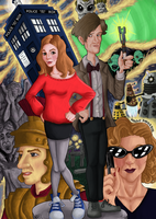 Doctor Who by Helonzyz