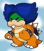 Paper Ludwig Von Koopa by Tails19950