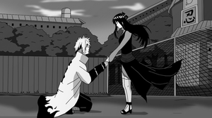Naruto Commission: NaruHina - Will You Marry Me? by Darkkitty669