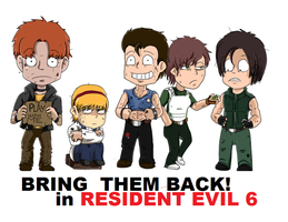 Please in Resident evil 6 by DZJproduction