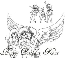 Happy Birthday Kat by needing-u-baby