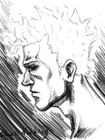 Manga Studio 5 Sketch: weary by Chuck-Nothing