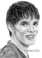 Colin Morgan - Merlin by InkyStars