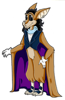 Sly C. - Bartok Ref. Sheet by KaylaTheDragoness