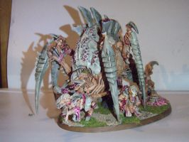 Tyranid Tervigon front side by Dible
