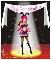 Feliz Cumple Ginny by Sigfried028