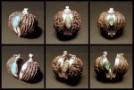 black walnut container pendants by morpho2012