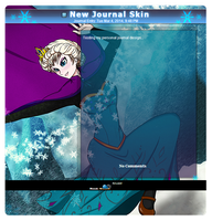 Frozen Journal Skin by Daske by Daske-san