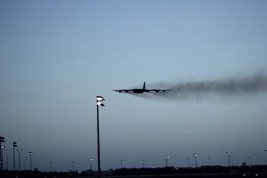 Low Passing B-52 by BackMasker