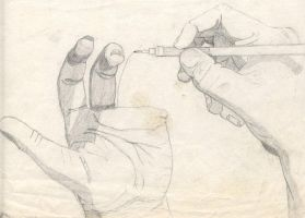 Hands by drosen