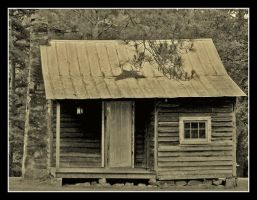 Little cabin by Alabamaphoto