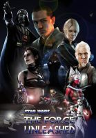 The Force Unleashed DVD front by The-Mattness