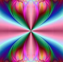 Mirrored Tulip: the Wonderful World of a Flower by FractalBee