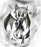 Melzy.:Gray World:. by ShadowSinty