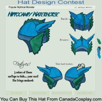 Waterhorse hat contest entry by SPPlushies