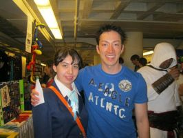 Me and Todd Haberkorn by Tia-chan4799
