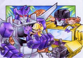 Rich Brat Decepticon Adventure by slycherrychunks