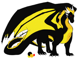 Dragon Adoptable- CLOSED by Wolfies--Adopts