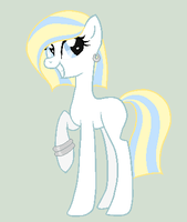 20 Points - Blonde Pony Adoptable by sararini