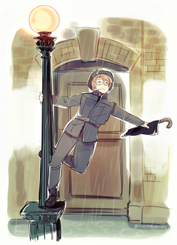 Singing In The Rain by Cioccolatodorima